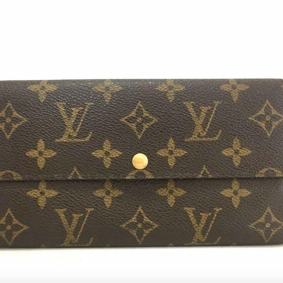 Louis Vuitton Handbags - Louis Vuitton Monogram Sarah Long Wallet